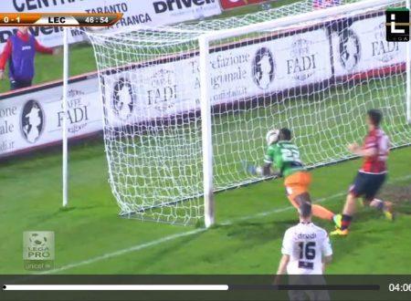 Taranto, Lecce, Sportube e il gol fantasma
