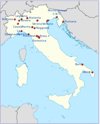 Il Lecce nella serie B 1929/30